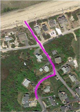Dennis Cape Cod vacation rental - Path to beach