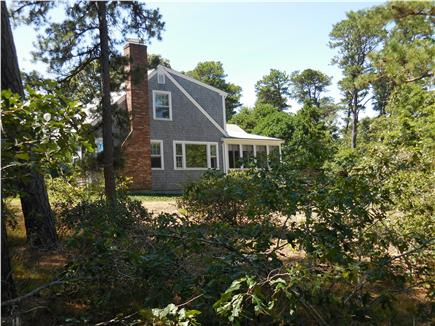 Eastham Cape Cod vacation rental - View of the house from the pond