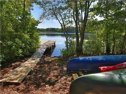Eastham Cape Cod vacation rental - Our access to Widow Harding Pond