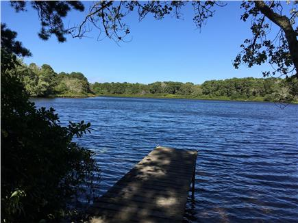 Eastham Cape Cod vacation rental - View from the dock