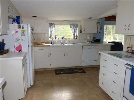 West Harwich Cape Cod vacation rental - Kitchen has another full bath off of it