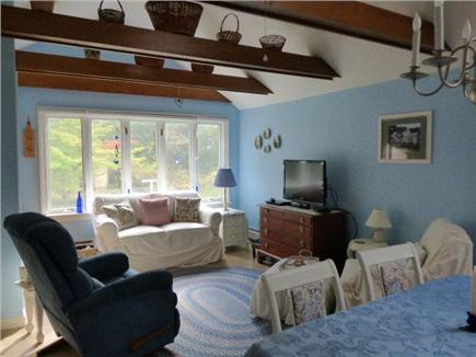 West Harwich Cape Cod vacation rental - Open living room into dining area