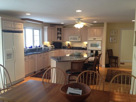 Sandwich Cape Cod vacation rental - Fully equipped kitchen with center island/counter