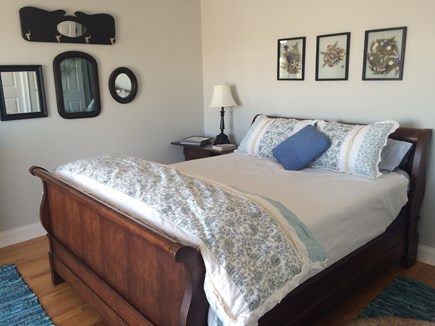 Sandwich Cape Cod vacation rental - Queen bedroom has private balcony, big closets.
