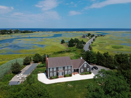 Sandwich Cape Cod vacation rental - Ocean, salt marsh, bocce and fire pit.  Great kayaking, too!