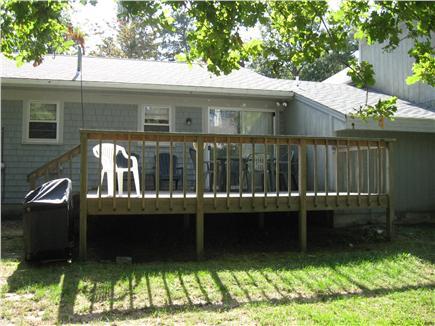 Dennis Cape Cod vacation rental - Back Deck