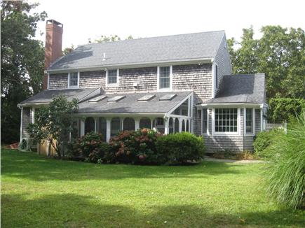 East Dennis Cape Cod vacation rental - View of back yard