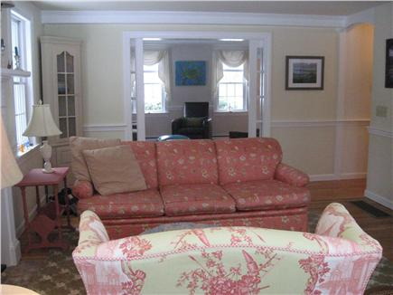 East Dennis Cape Cod vacation rental - Other view of living room