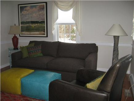 East Dennis Cape Cod vacation rental - Another living area with pull out couch.