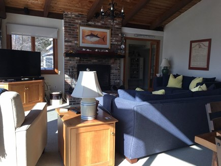 Wellfleet Cape Cod vacation rental - Living area.