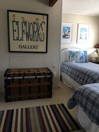 Wellfleet Cape Cod vacation rental - Lower level twin bedroom