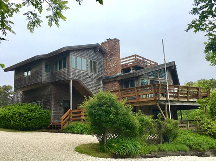Wellfleet Cape Cod vacation rental - Deck house multiple  levels great home for multiple families.
