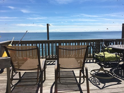 Truro Cape Cod vacation rental - Large private waterfront deck