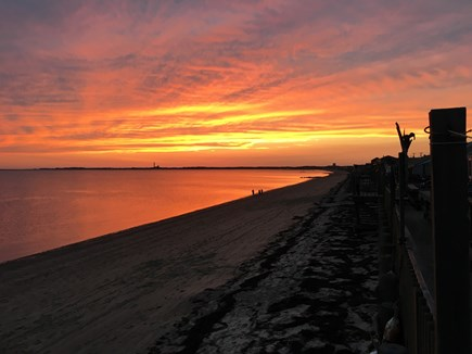 Truro Cape Cod vacation rental - Gorgeous views looking toward Provincetown