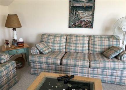 Dennis Village Cape Cod vacation rental - Living room (queen sleeper)