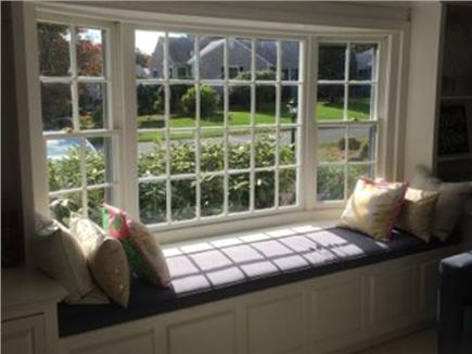 Dennis Cape Cod vacation rental - Window seat in the family room