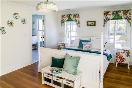 Chatham Cape Cod vacation rental - Second floor master suite with private bathroom/European King Bed