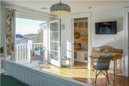 Chatham Cape Cod vacation rental - Additional picture of second floor master showing balcony