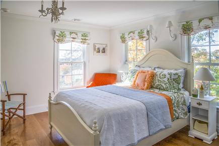 Chatham Cape Cod vacation rental - Fourth bedroom (queen size bed) with private bathroom