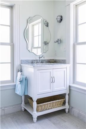 Chatham Cape Cod vacation rental - Master bath vanity