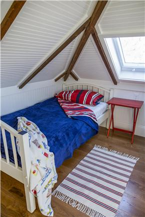 Chatham Cape Cod vacation rental - 6th Bedroom with 3 twin beds, 2 in the mezzanine level