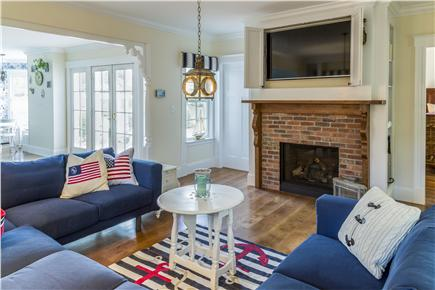 Chatham Cape Cod vacation rental - Living Room with flat screen television