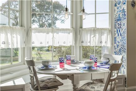Chatham Cape Cod vacation rental - Breakfast area with seating for 6
