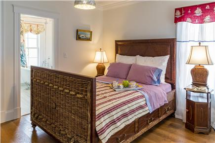 Chatham Cape Cod vacation rental - First floor bedroom with private bathroom - queen size bed