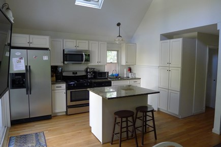 Eastham Cape Cod vacation rental - New kitchen in the detached home