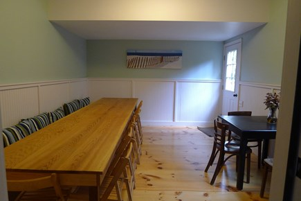 Eastham Cape Cod vacation rental - Indoor dining room in 3 bedroom home seats 18 comfortably