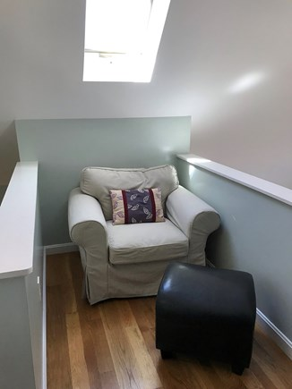 Eastham Cape Cod vacation rental - Sitting area in the loft of Littleneck Cottage.