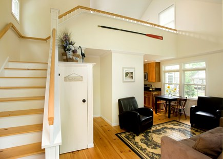 Eastham Cape Cod vacation rental - Living area of the 2 bedroom home