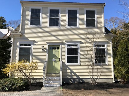 Eastham Cape Cod vacation rental - The front of Quahog Cottage. 3 Bedrooms, 2 full baths.