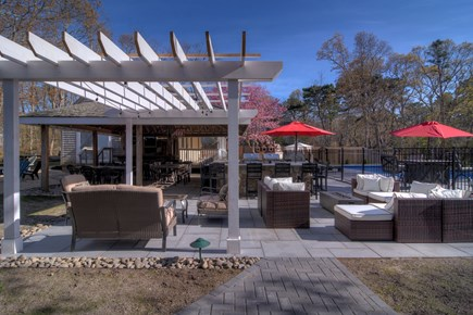 Eastham Cape Cod vacation rental - Outdoor sitting areas to relax.