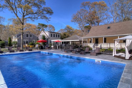 Eastham Cape Cod vacation rental - There are no sharks in our pool!