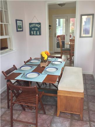 North Falmouth Cape Cod vacation rental - Dining area off kitchen.