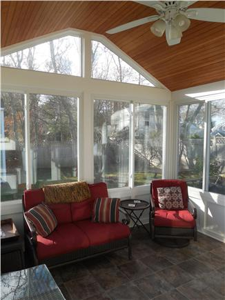 North Falmouth Cape Cod vacation rental - Sun porch