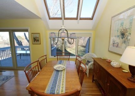 Brewster Cape Cod vacation rental - Dining area awash with plenty of natural light