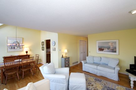 Ocean Edge, Brewster Cape Cod vacation rental - Spacious living room area open to dining room