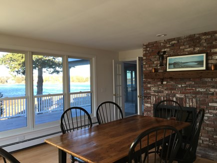 East Orleans Cape Cod vacation rental - Dining room off kitchen with great morning sun!