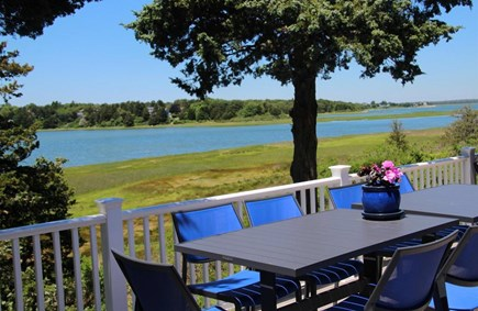 East Orleans Cape Cod vacation rental - Deck, best spot to lounge anytime of the day!