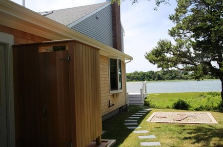 East Orleans Cape Cod vacation rental - New outdoor shower