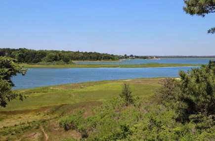 East Orleans Cape Cod vacation rental - View from upper deck