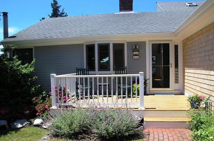 East Orleans Cape Cod vacation rental - Easy entry to main floor of house and the kitchen