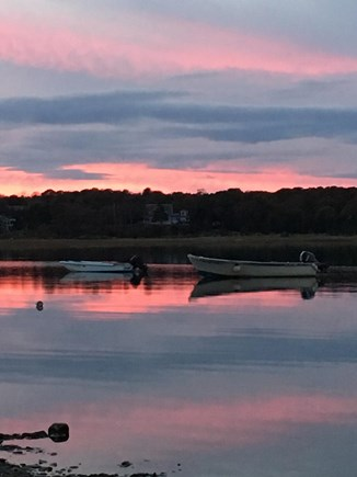 East Orleans Cape Cod vacation rental - Autumn sunset