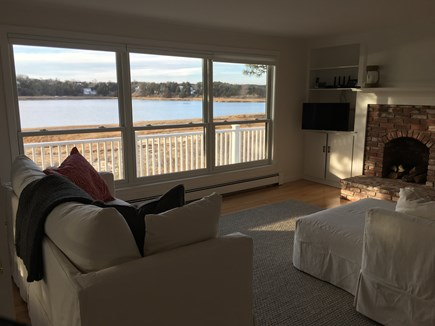 East Orleans Cape Cod vacation rental - Cozy family room, views and bird watching