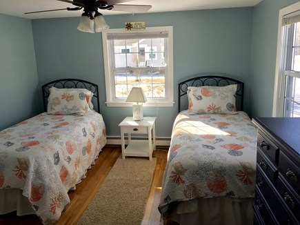 Plymouth MA vacation rental - Bedroom 3- Two Twins- Main floor