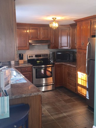 Plymouth MA vacation rental - Fully outfitted Kitchen located on the Main Floor.