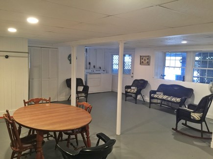 Plymouth MA vacation rental - Large Bonus room in Lower level with Washer and Dryer!