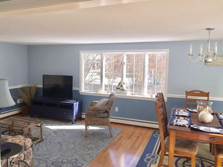 Plymouth MA vacation rental - Family room and Dining room